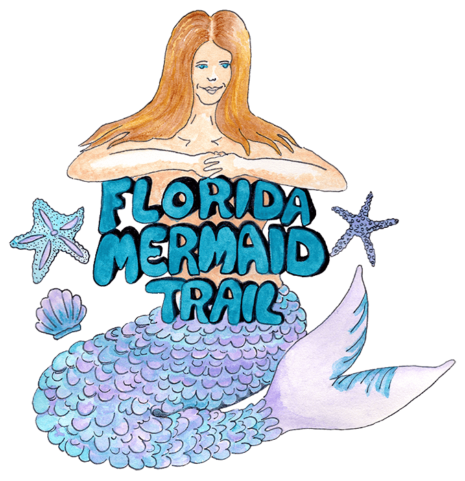 Florida Mermaid Trail Walking Tour Logo
